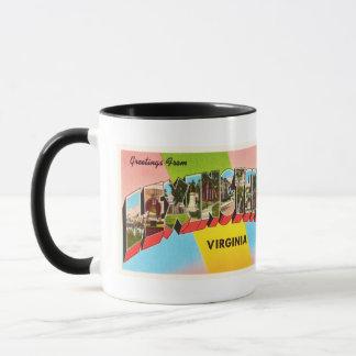 Mug Vieille carte postale vintage de voyage de