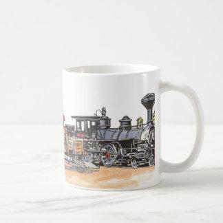 Mug Vieux dépôt occidental de chemin de fer