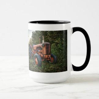 Mug Vieux tracteur rouge vintage