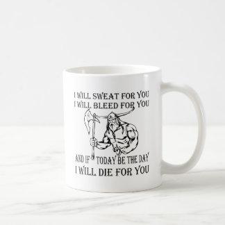 Mug Viking I suera la purge et mourra pour vous
