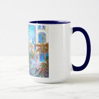 Mug Villas chez Bordighera Claude Monet