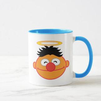 Mug Visage de sourire d'Ernie avec le halo