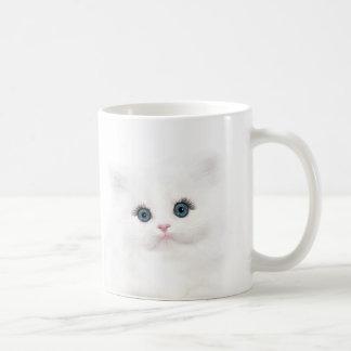 Mug Visage persan blanc de chaton