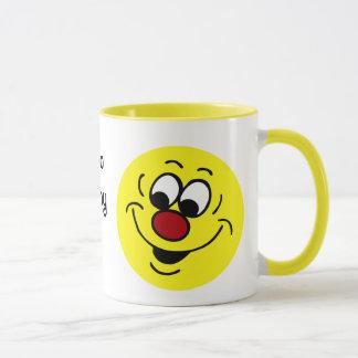 Mug Visage souriant distrait Grumpey