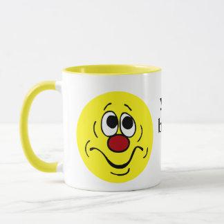 Mug Visage souriant ennuyé Grumpey