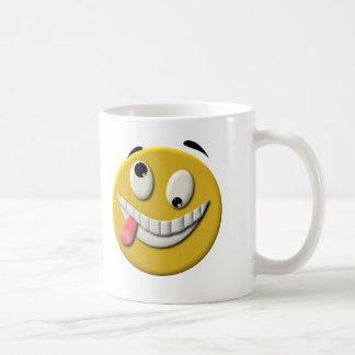 Mug Visage souriant fou