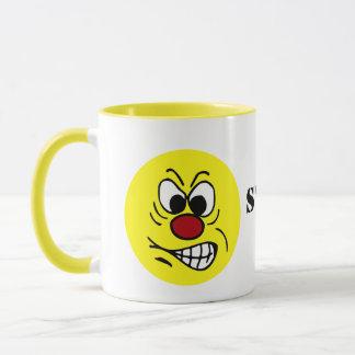Mug Visage souriant frustrant Grumpey