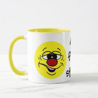 Mug Visage souriant honteux Grumpey