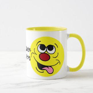 Mug Visage souriant idiot Grumpey