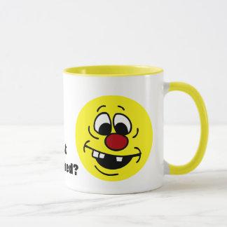 Mug Visage souriant maladroit Grumpey