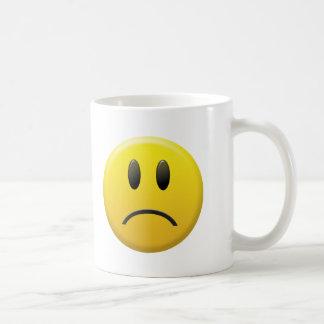 Mug Visage souriant triste