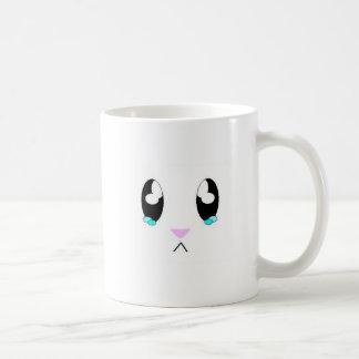 Mug Visage triste de lapin de Kawaii