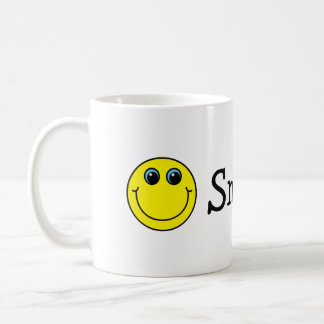 Mug Visages souriants jaunes