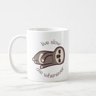 Mug vivant ralentissez