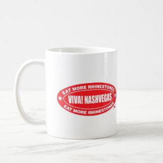 Mug VIVATS ! NASHVEGAS mangent plus d'ovale du TM de
