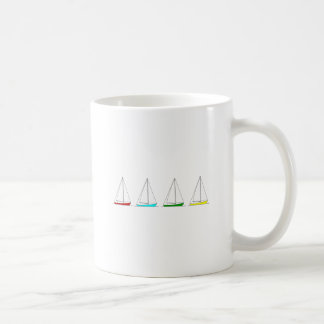 Mug Voiliers colorés de sloop