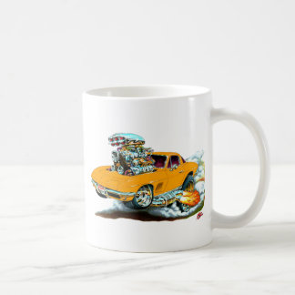 Mug Voiture 1966-67 d'orange de Corvette