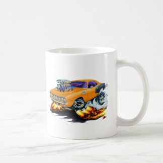 Mug Voiture 1971 d'orange de Hemi Cuda
