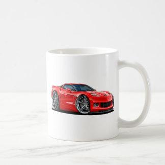Mug Voiture 2010-12 de rouge de Corvette
