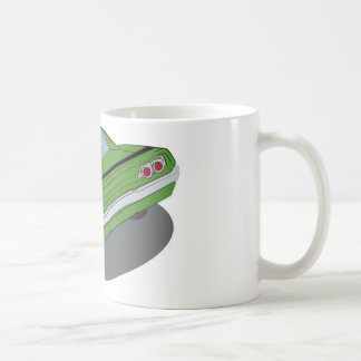 Mug Voiture américaine verte de muscle