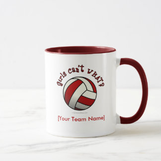 Mug Volleyball rouge