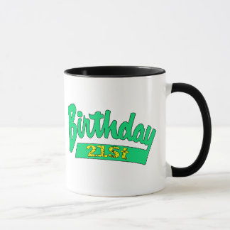 Mug Vos 21èmes cadeaux d'anniversaire