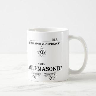 Mug Vote Anti-Maçonnique