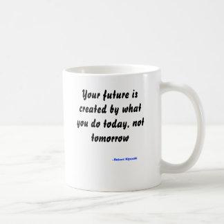 Mug Votre avenir est créé par ce que vous faites