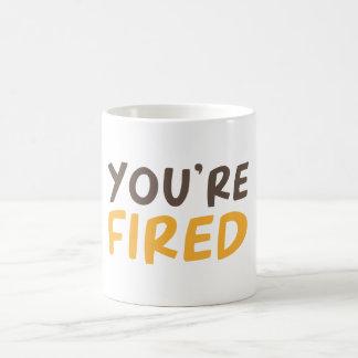Mug Vous êtes mis le feu
