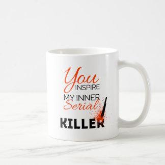 Mug Vous inspirez mon assassin en série intérieur