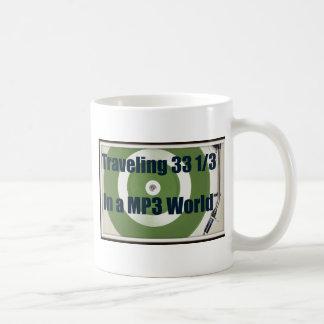 Mug Voyageant 33 1/3 dans un monde MP3