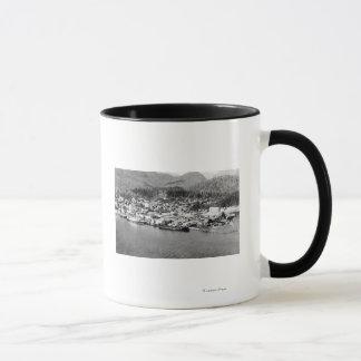 Mug Vue d'air de Ketchikan, photographie de l'Alaska