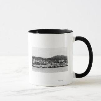Mug Vue de bord de mer de Ketchikan, photographie de