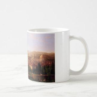 Mug Vue de Florence de San Miniato par Thomas Cole