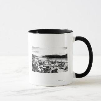 Mug Vue de Ketchikan, Alaska semblant du sud-est