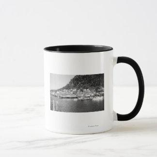 Mug Vue de Ketchikan, photographie de bord de mer de