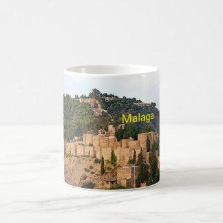 Mug Vue de la forteresse d'Alcazaba à Malaga