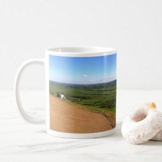 Mug Vue de massif de roche de Glastonbury