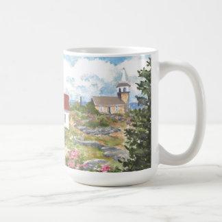 Mug Vue de pièce d'île d'étoile une vue à l'île des