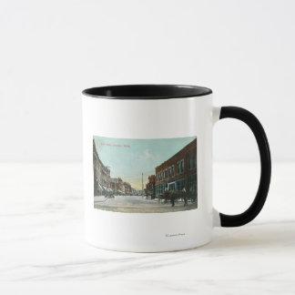 Mug Vue de StreetLewiston principal, identification