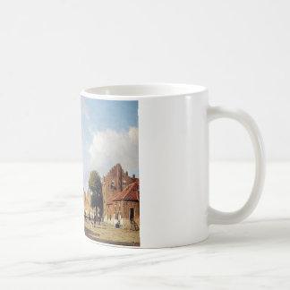 Mug Vue de ville par Johan Hendrik Weissenbruch