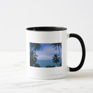 Mug Vue d'horizon d'océan de terre