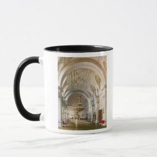 Mug Vue du Hall blanc dans le palais d'hiver