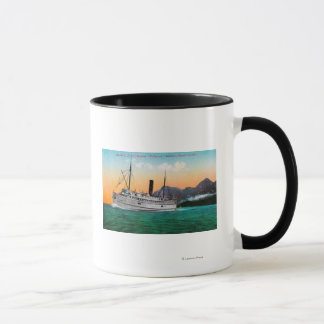 Mug Vue du vapeur Jefferson