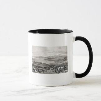 Mug Vue éloignée du volcan de l'Aconcagua