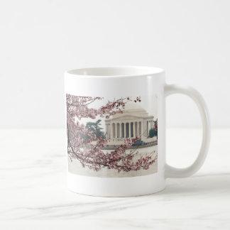 Mug Washington DC de fleurs de cerisier