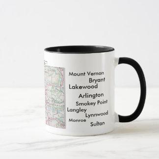 Mug Washington, Whidby est NAS, Marysville, chêne Har…