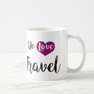 """Mug «We love Travel """""""