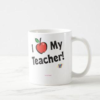 Mug Webkinz : J'aime mon professeur !