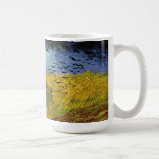 """Mug Wheatfield de Vincent van Gogh le """"avec des"""